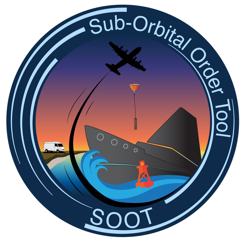 Sub-Orbital Order Tool (SOOT) Logo