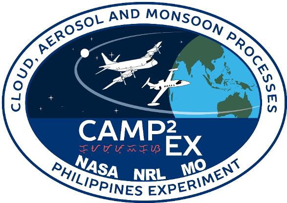 Clouds, Aerosol and Monsoon Processes-Philippines Experiment-logo